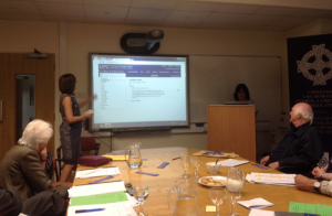 Angharad Fychan describes how to search the Online Dictionary