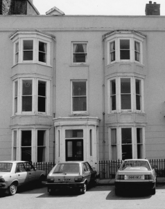 The Centre's first home at 2, Marine Terrace, Aberystwyth