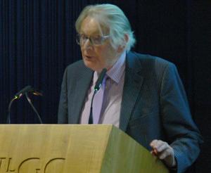 Former Dictionary editor Tegwyn Jones.