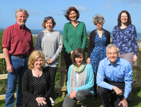 Photograph of the Dictionary staff taken in 2018